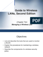 CWNA Guide to Wireless LANs Second Edition Chapter 10