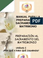Charlas Prematrimoniales Unidad 1 - Por Qué y Para Qué Casarnos Convivientes