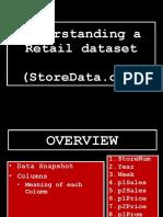 Understanding a Sample Retail Dataset