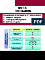 Unit 3 Integration