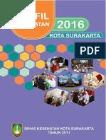 Profil Kesehatan Kota Surakarta 2016