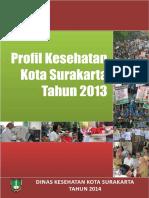 Profil Kesehatan Kota Surakarta Tahun 2013