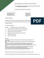 Cálculo Diferencial e Integral Multivariable Economía 4o
