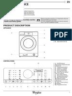 Electrolux Washing Machine SUPREME CARE 7014