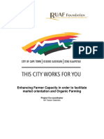 Cape Town Urban Agriculture Pilot Project Report