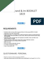 Lcvp Bim Booklet