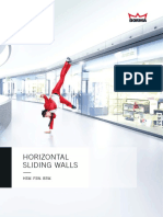 DORMA Horizontal Sliding Wall