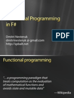 Introduction to F#