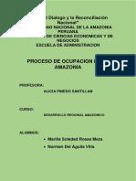 Desarrollo Regional Amazonico