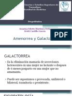Amenorrea y Galactorrea