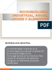 Microbiologia Industrial Aguas Leches y Alimentos