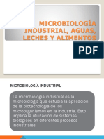 Microbiologia Industrial Aguas Leches y Alimentos