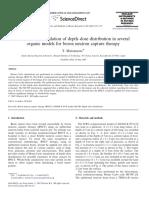 2007_Monte Carlo Simulation of Depth–Dose Distribution in Several