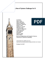 A Berkeley View of Systems Challenges for AI