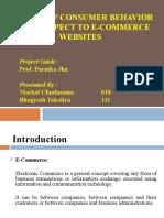 E-commerce & Consumer Behaviour