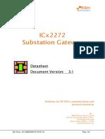 ICx2272 Substation Gateway