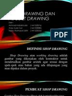 ADP Kelompok Shop Drawing Dan as Built Drawing