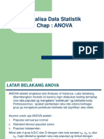 Analisis of Variance Anova Ppt
