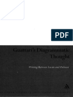Guattari s Diagrammatic Thought