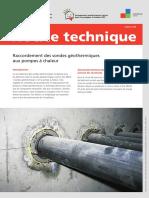 ___Suissetec_Sonde Géothermique_Raccordement_2015-07.pdf