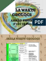 Skala Waktu Geologi Ppt