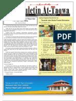 Buletin At-Taqwa Edisi September 2010