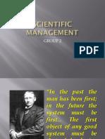 Scientific Management Edited
