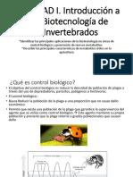 UNIDAD I. Introducción -Agentes de Control Biológico