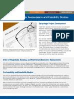 Mc14 020 en Preliminary Economic Assessments and Feasibility 2