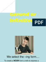 Ing Form Infinitive