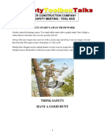 Hunting Safety Chuck Hintze