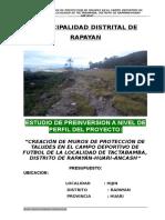 1. Perfil Tecnico de Muro Contencion Tactabamaba