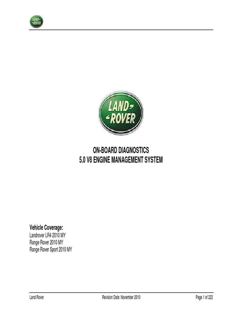 5 0 v8 Engine Management System | Throttle | Transmission