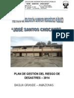 Plan Gestion Del Riesgo Chocano 2014
