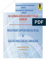 Presentation 8th German-African Energy Forum Elung Che CSPH Cameroon