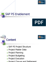 SAP PS Enablement