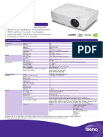 PRJ TH534 Datasheet 201709