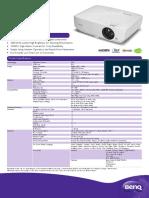 PRJ TH534 Datasheet 201709