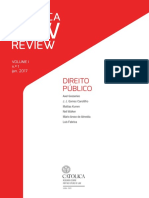 Catolica Law Review V1 N1