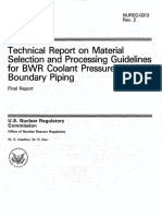 NUREG-0313_Rev-2_Material Selection and Processing for BWR Piping