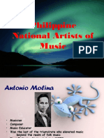Philippine National Artist of Music