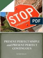 Present Perfect Tense
