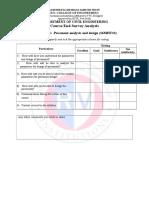 PAD Course End Survey 2016 Sheet