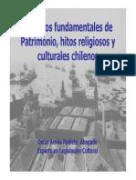 Aspectos Fundamentales de Patrimonio, Hitos Religiosos y Culturales Chilenos