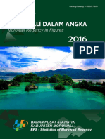 Kabupaten Morowali Dalam Angka 2016