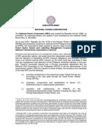 Executive Brief for Npb