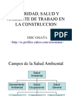 [PD] Presentaciones - Seguridad Salud y Ambiente de Trabajo