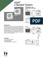 Bs633a Data Sheet