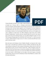 Cristiano Ronaldo Dos Santos Aveiro GOIH