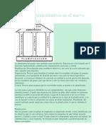 Procesos Administrativos en El Nuevo Modelo